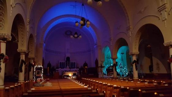 Église Racine, paroisse Sainte-Famille de Valcourt