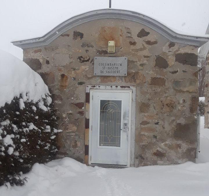 Code d'accès au colombarium de Valcourt