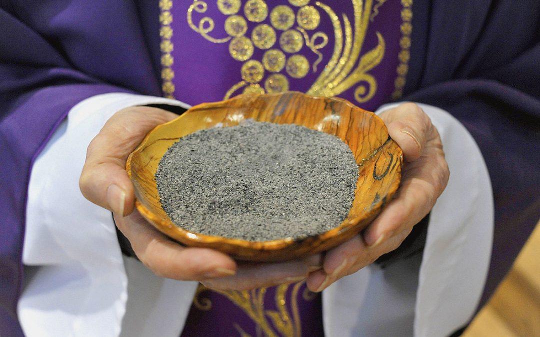 mercredi des cendres, paroisse Sainte-Famille de Valcourt
