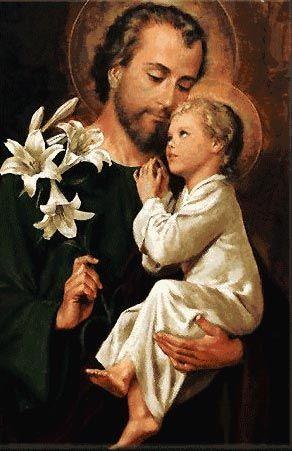 Saint Joseph patron de la communauté de Valcourt, paroisse Sainte-Famille