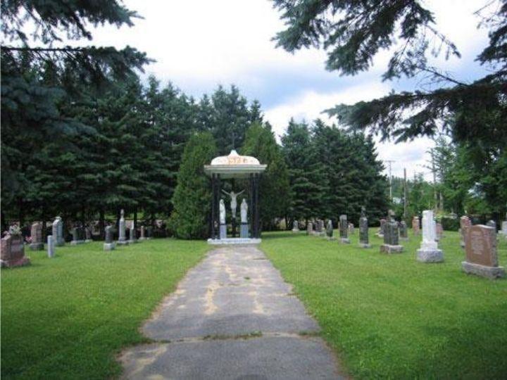 Cimetière Bonsecours, paroisse Sainte-Famille de Valcourt