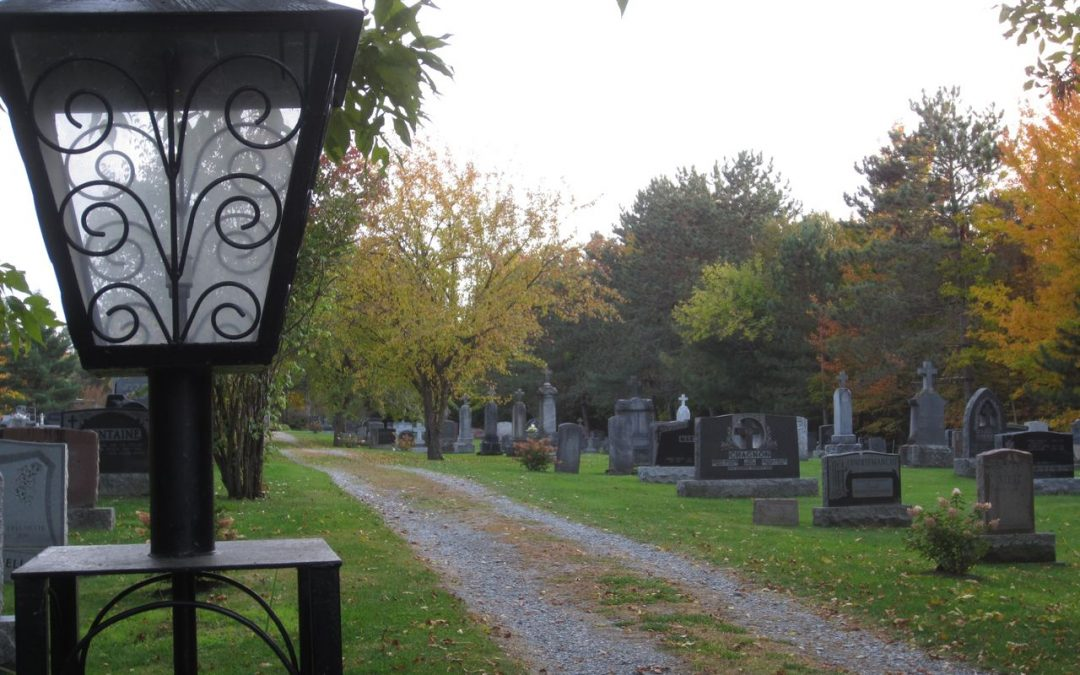 Messe au cimetière