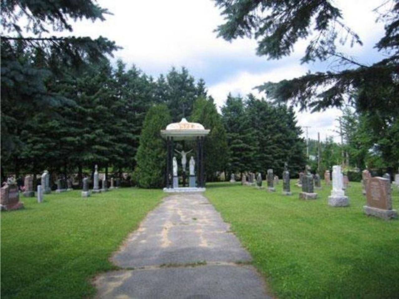 cimetière Bonsecours, paroisse Sainte-Famille