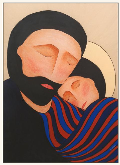 Saint Joseph, paroisse Sainte-Famille de Valcourt