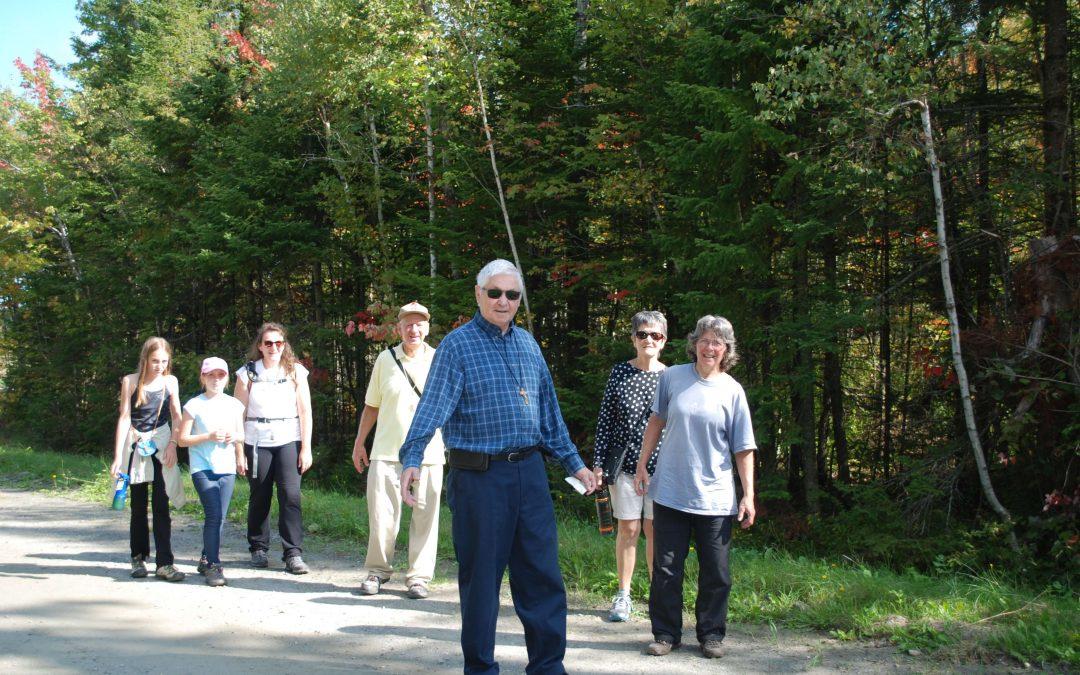 marche de l'Espérance, Val d'Akor, paroisse Sainte-Famille de Valcourt